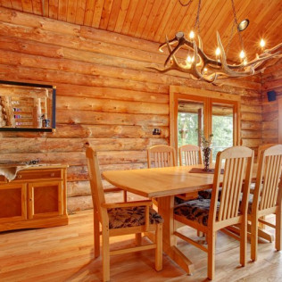 TURN A THREE SEASONS HUNTING CABIN INTO A SECOND HOME WITH NEXT GENERATION EXTREME CONDITIONS FLOORING.