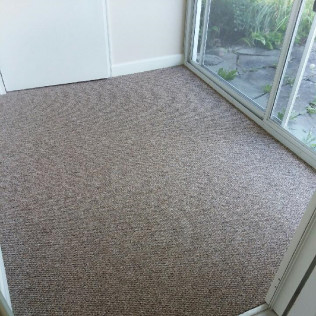 Indoor-Outdoor Carpet for Three-Seasons rooms