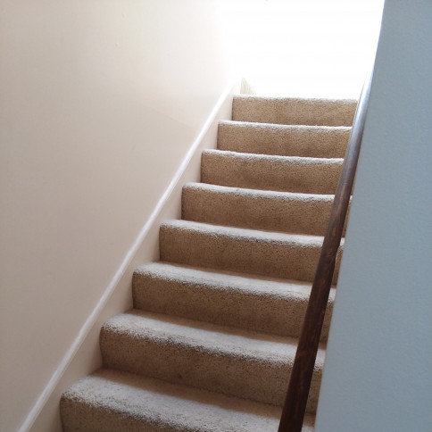 Staircase before Laminate